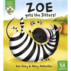 Zoe the Zebra Hurts her Ankle
